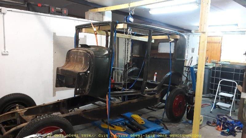divorce entre le chassis et la caisse